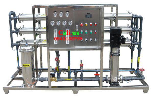 hệ thống lọc nước tinh khiết 125l/h