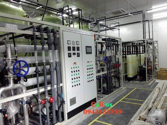 hệ thống lọc nước đóng bình