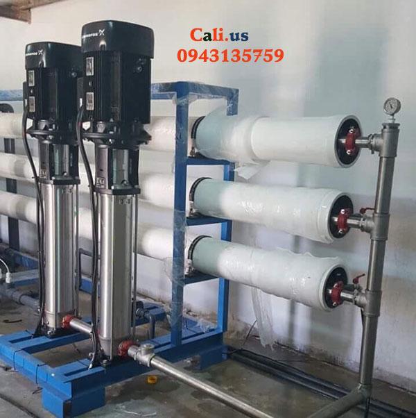 hệ thống lọc nước đóng bình 1500l/h