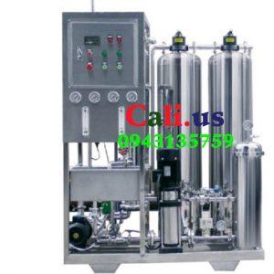 hệ thống lọc nước đóng bình 500l/h giá rẻ