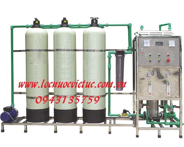 hệ thống lọc nước đóng bình RO
