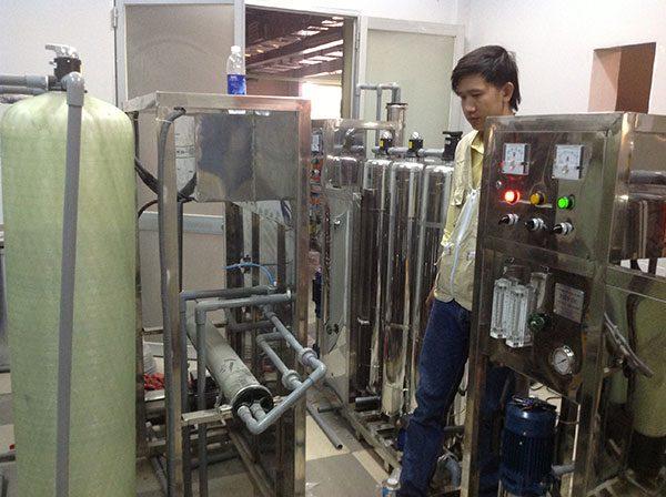 hệ thống lọc nước đóng bình từ 500-800 lít/giờ