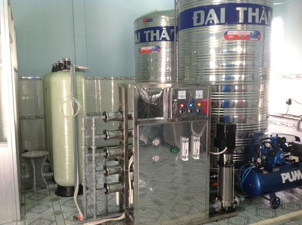 hệ thống lọc nước tinh khiết công nghệ mới