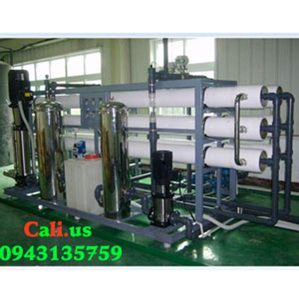 Hệ thống lọc nước đóng bình công suất 1200 l/h