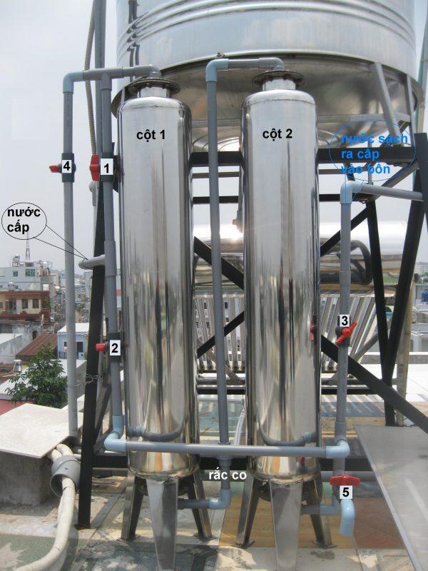hệ thống xử lý nước tinh khiết giá rẻ