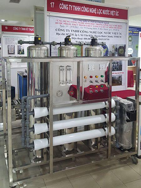 hệ thống lọc nước đóng bình công suất 1000 l/h