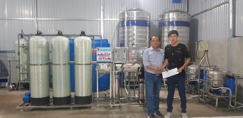 kinh doanh lọc nước đóng bình